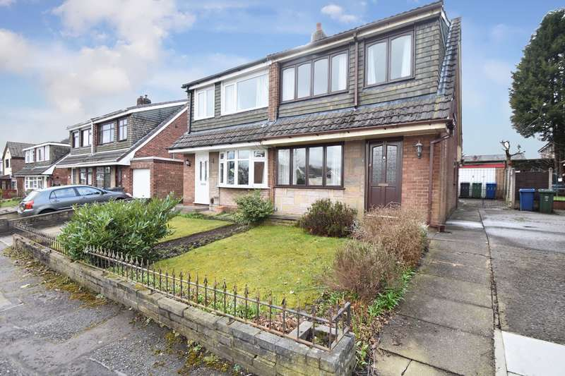 3 Bedrooms Semi Detached House for sale in Nuttall Avenue, Whitefield, Manchester, M45