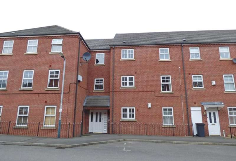 1 Bedroom Ground Flat for sale in Silken Court, Nuneaton, CV11