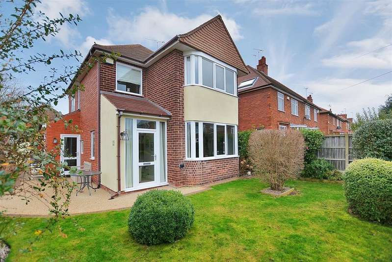 3 Bedrooms Detached House for sale in Harby Avenue, Mansfield Woodhouse