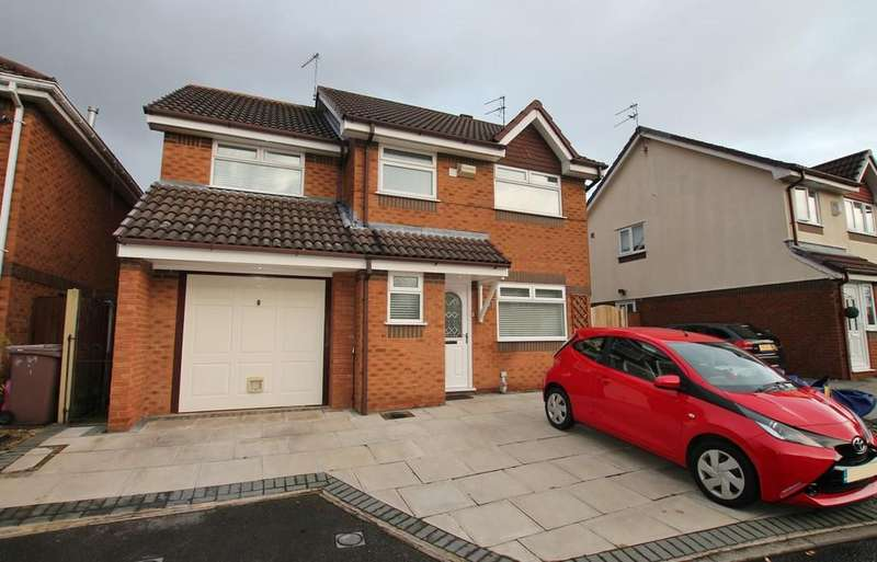 4 Bedrooms Detached House for sale in Whitebeam Gardens, St Helens