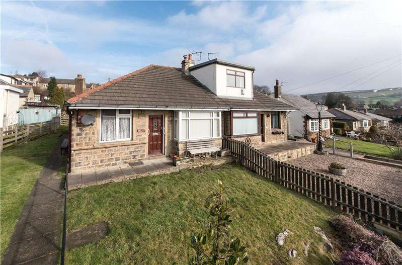 2 Bedrooms Semi Detached Bungalow for sale in Main Road, East Morton, Keighley, West Yorkshire