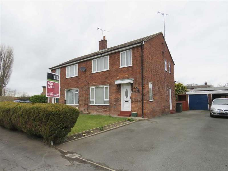 3 Bedrooms Semi Detached House for sale in Hill Park, Dudleston Heath, SY12
