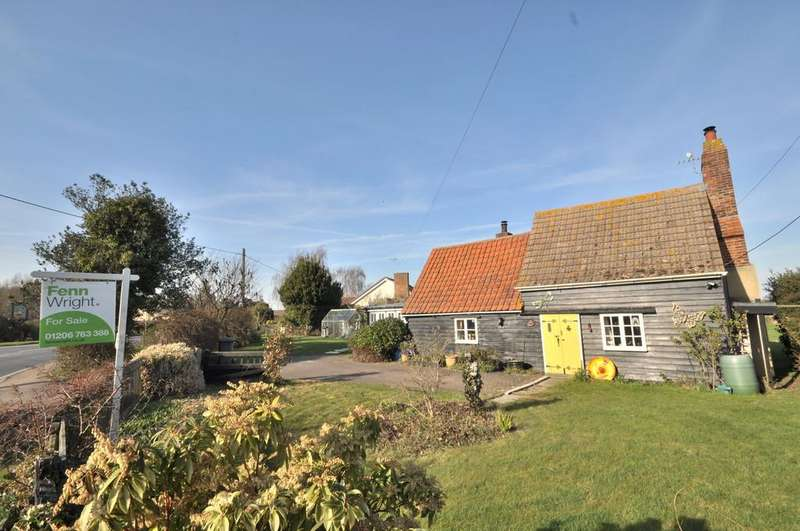 2 Bedrooms Detached House for sale in Harwich Road, Beaumont, Clacton-on-Sea, CO16 0AX