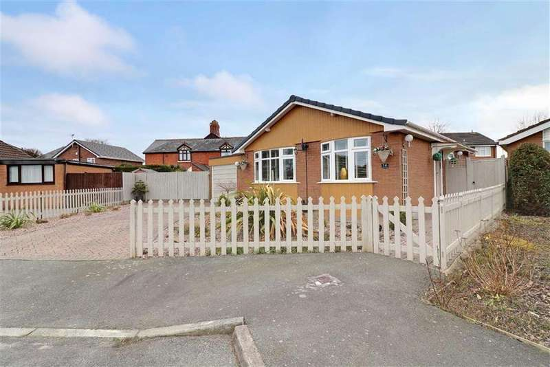 2 Bedrooms Detached Bungalow for sale in Ullswater Avenue, Winsford, Cheshire