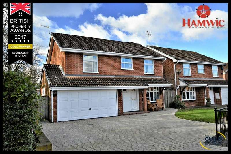 5 Bedrooms Detached House for sale in Teal Close, Totton, Southampton SO40