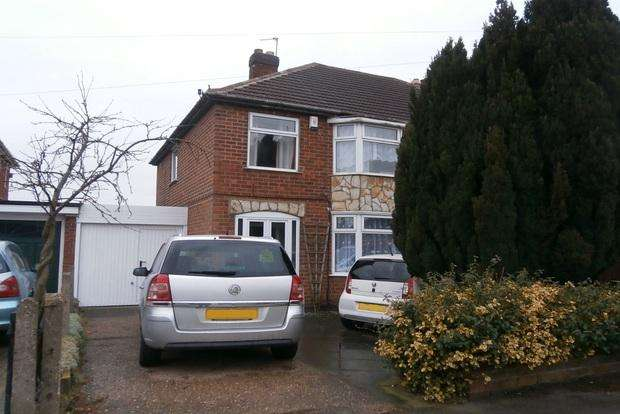 3 Bedrooms Semi Detached House for sale in Tournament Road, Glenfield, Leicester, LE3