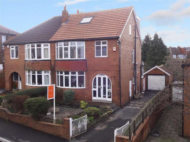 4 Bedrooms Semi Detached House for sale in Wynford Rise, West Park