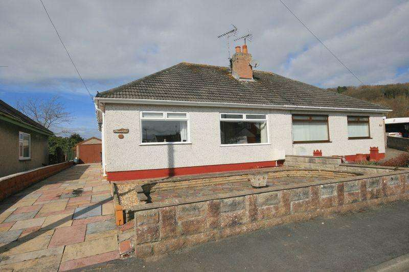 2 Bedrooms Semi Detached Bungalow for sale in Ronald Avenue, Llandudno Junction