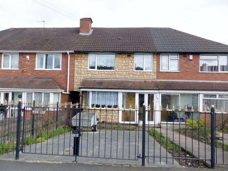 3 Bedrooms Terraced House for sale in Chantrey Crescent, Great Barr