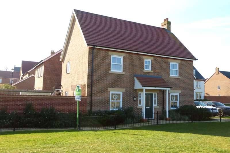 3 Bedrooms Detached House for sale in Crowsley Road, Kempston, Bedford, MK42