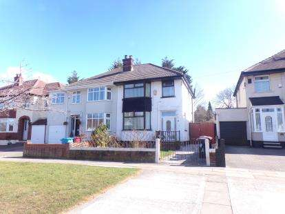 3 Bedrooms Semi Detached House for sale in Thingwall Hall Drive, Liverpool, Merseyside, England, L14