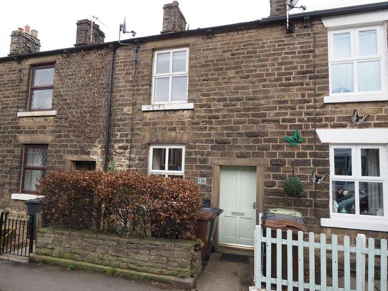 2 Bedrooms Terraced House for sale in Low Leighton Road, New Mills, High Peak, Derbyshire, SK22 4JF