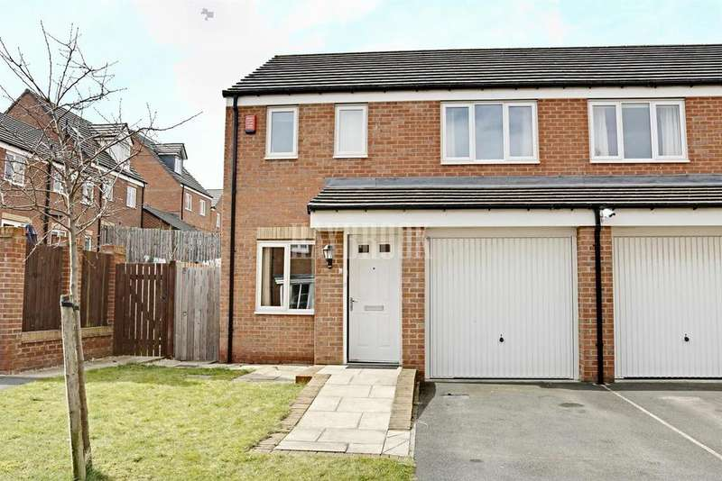 3 Bedrooms Semi Detached House for sale in Templing Close, Barnsley