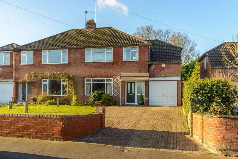 4 Bedrooms Semi Detached House for sale in Common Lane, Kenilworth