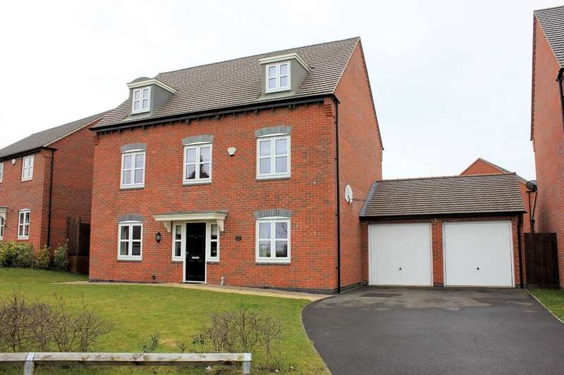 5 Bedrooms Detached House for sale in Paisley Walk, Church Gresley