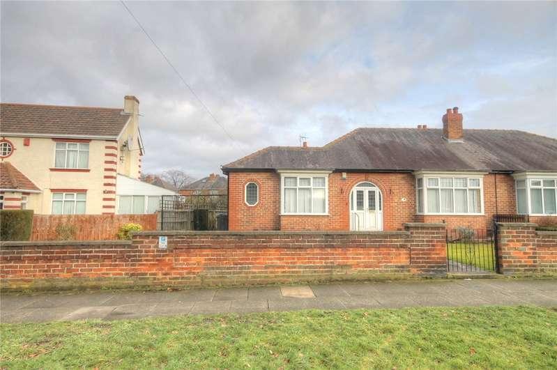 2 Bedrooms Semi Detached Bungalow for sale in Neasham Road, Darlington, County Durham, DL1