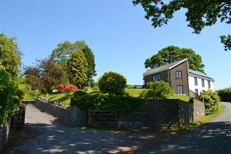 4 Bedrooms Detached House for sale in Tower Hill, Ffynnon-Ddrain, Carmarthen