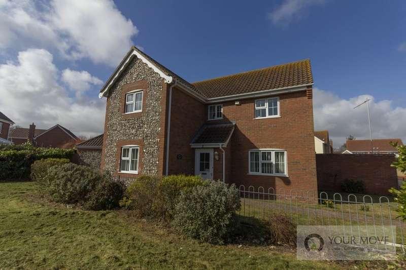 4 Bedrooms Detached House for sale in Heritage Green, Kessingland, Lowestoft, NR33