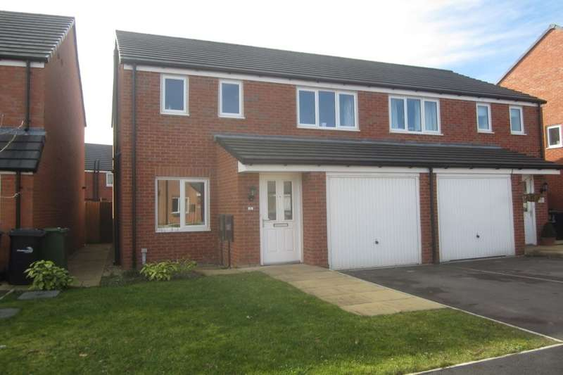 3 Bedrooms Semi Detached House for sale in Jubilee Pastures, Middlewich, CW10