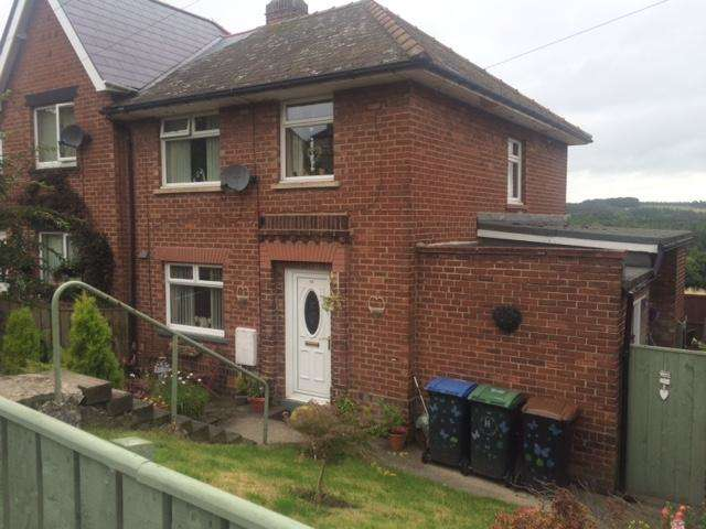 3 Bedrooms Semi Detached House for sale in Pleasant View, Consett, DH8