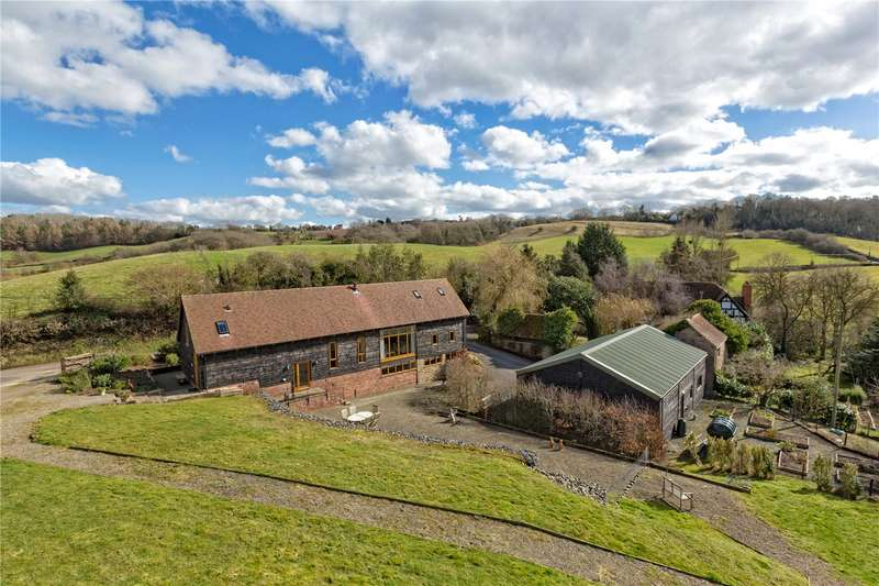 3 Bedrooms Barn Conversion Character Property for sale in Upper Bank, Eastham, Tenbury Wells, Worcestershire, WR15
