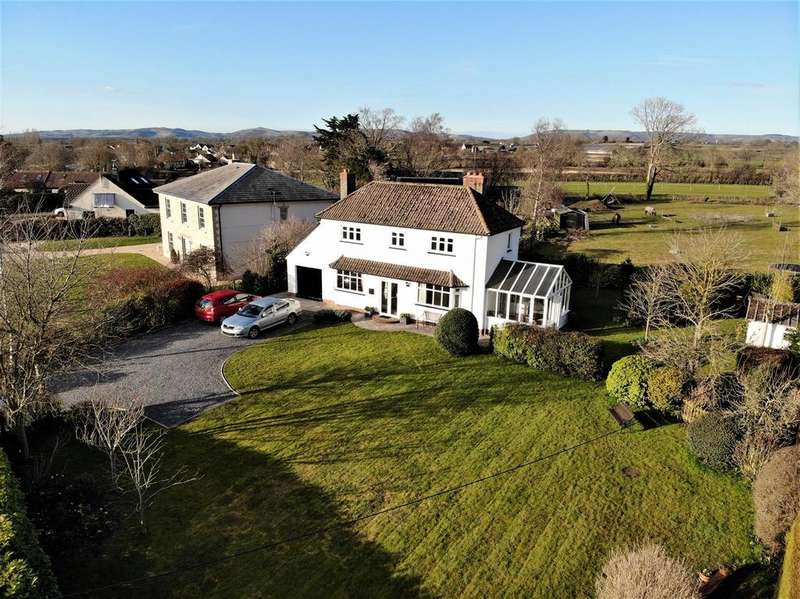 4 Bedrooms House for sale in Wellsway, Blackford, Wedmore