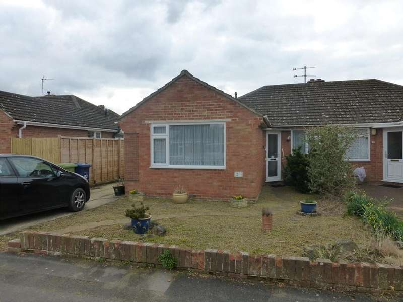 2 Bedrooms Semi Detached Bungalow for sale in Snowdon Gardens, Churchdown, Gloucester, GL3