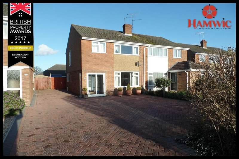 3 Bedrooms Semi Detached House for sale in Fritham Close, Totton, Southampton SO40