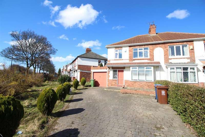 3 Bedrooms Semi Detached House for rent in Cochrane Park Avenue, Newcastle Upon Tyne