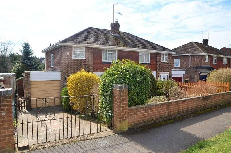 3 Bedrooms Semi Detached House for sale in Fairford Road, Tilehurst, Reading, Berkshire, RG31