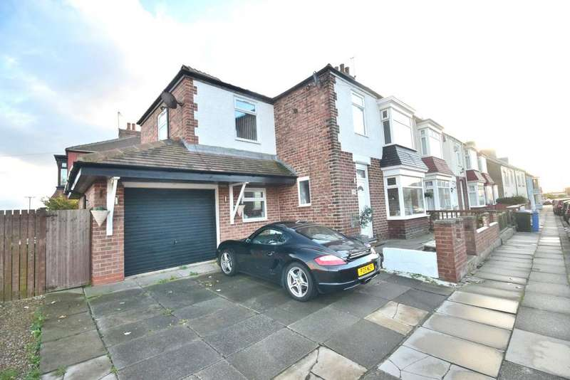 4 Bedrooms Semi Detached House for sale in High Street West, Redcar TS10