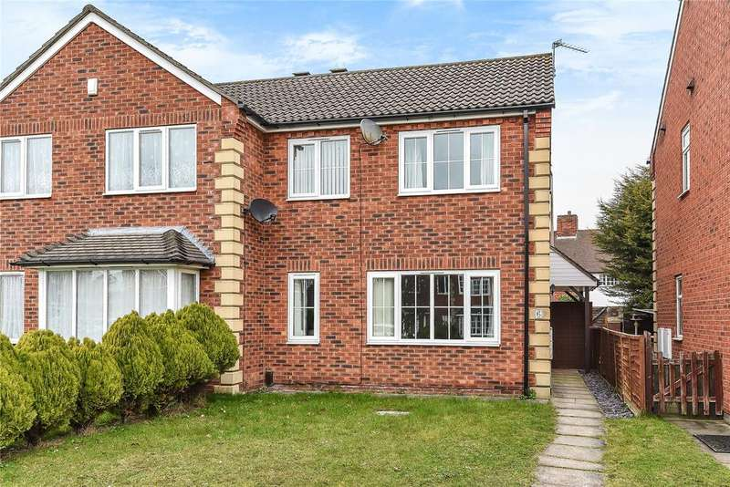3 Bedrooms Semi Detached House for sale in Shays Drive, Lincoln, LN6