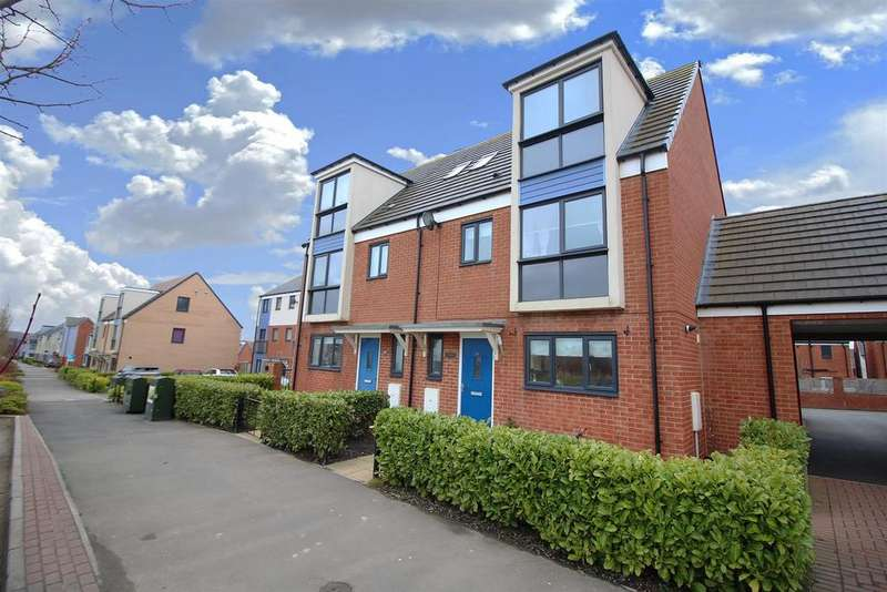 4 Bedrooms Semi Detached House for sale in Wagonway Drive, Great Park, Newcastle Upon Tyne