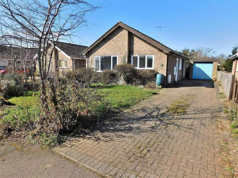 2 Bedrooms Detached Bungalow for sale in Hinchingbrook Close, South Wootton, King's Lynn