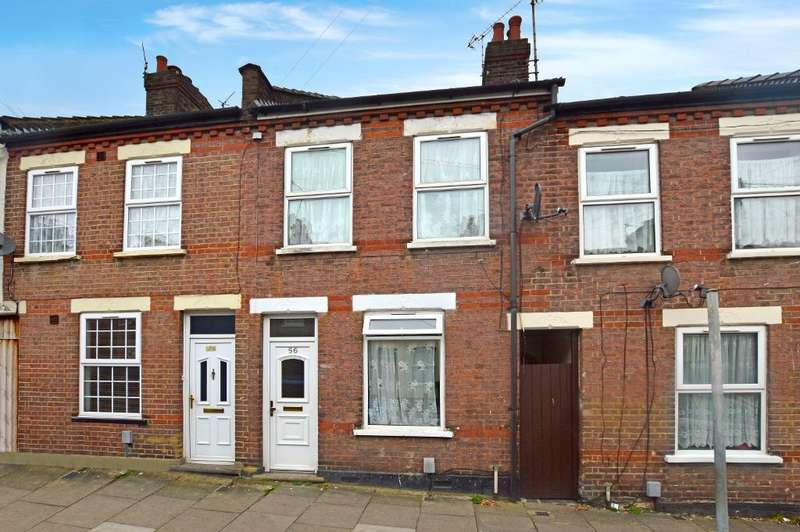 2 Bedrooms Terraced House for sale in Hampton Road, Luton, Bedfordshire, LU4 8AR