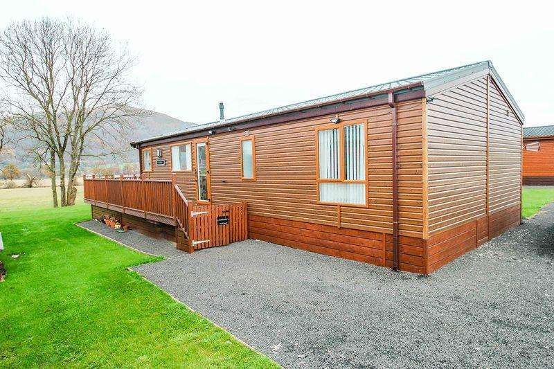 2 Bedrooms Detached Bungalow for sale in The Woods Caravan Park, Fishcross