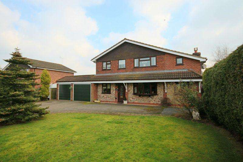 4 Bedrooms Detached House for sale in Ash Drive, Haughton, Stafford