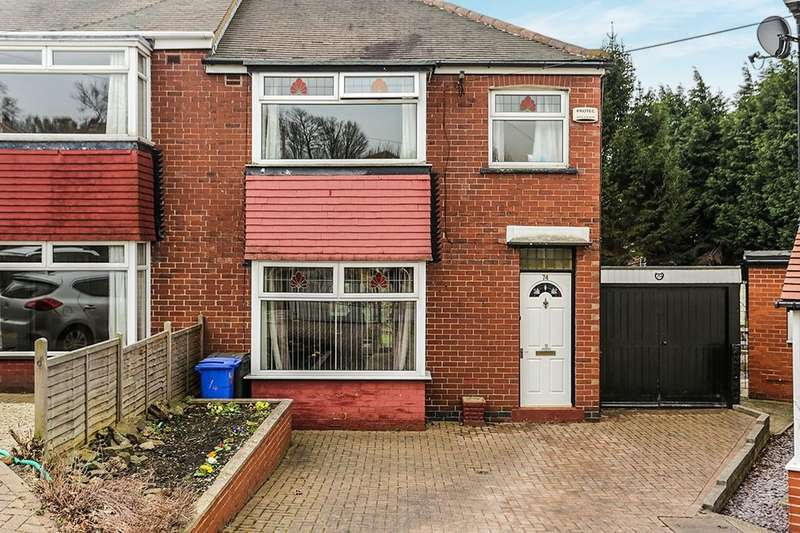 3 Bedrooms Semi Detached House for sale in Skye Edge Road, Sheffield, S2