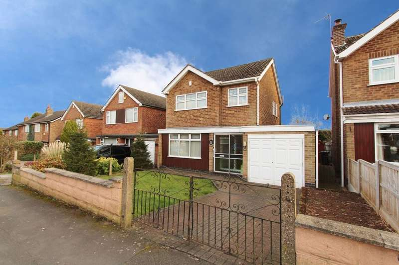 3 Bedrooms Detached House for sale in Horsendale Avenue, Nuthall, Nottingham, NG16