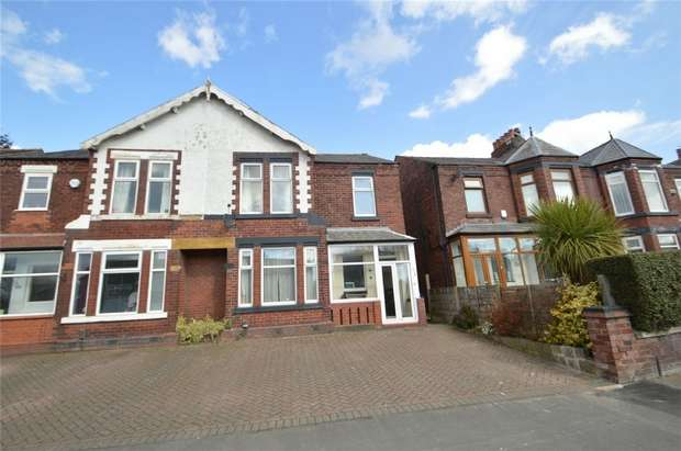 4 Bedrooms Semi Detached House for sale in Manchester Road, Heaton Norris, Stockport, Cheshire