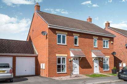 3 Bedrooms Semi Detached House for sale in St. Thomas Way, Rugeley, Staffordshire, United Kingdom