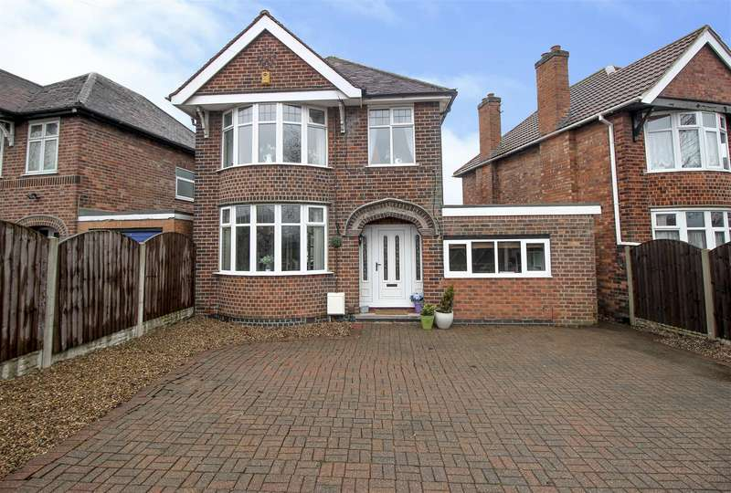 3 Bedrooms Detached House for sale in Pasture Road, Stapleford, Nottingham