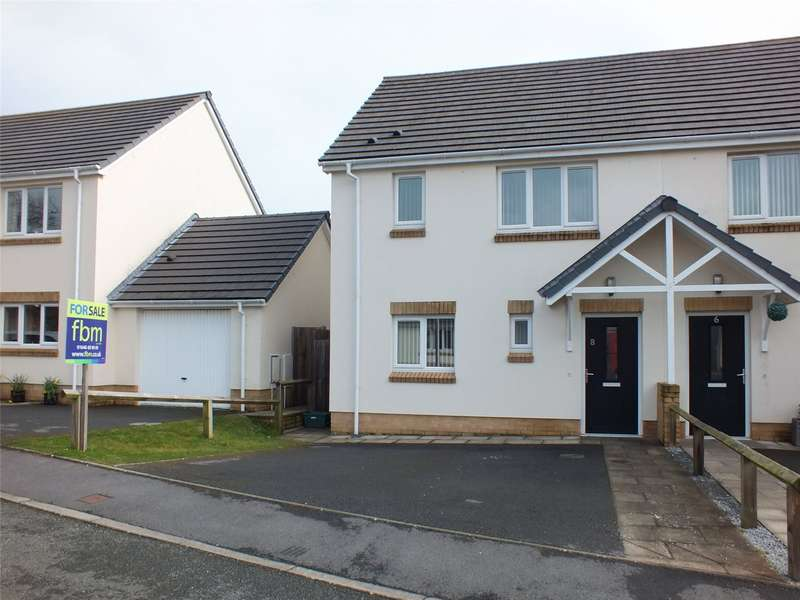 3 Bedrooms Semi Detached House for sale in Myrtle Meadows, Steynton, Milford Haven
