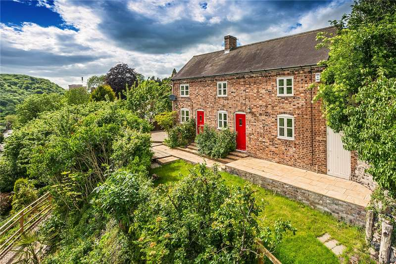3 Bedrooms Detached House for sale in The Old Postmans House, 1 Chapel Road, Ironbridge, Shropshire, TF8