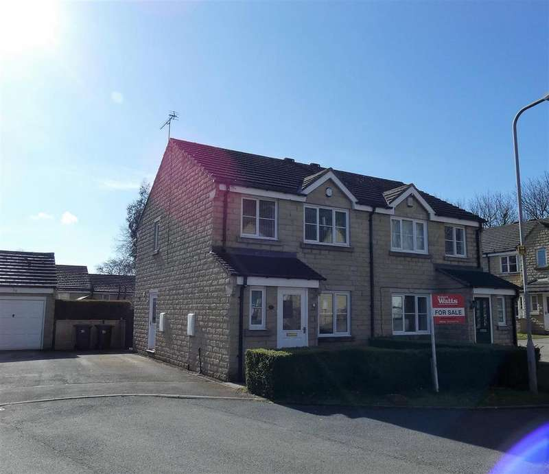 3 Bedrooms Semi Detached House for sale in Peregrine Way, Clayton Heights, Bradford, BD6 3YA