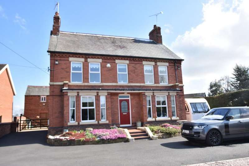 4 Bedrooms Detached House for sale in Old Mold Road, Gwersyllt