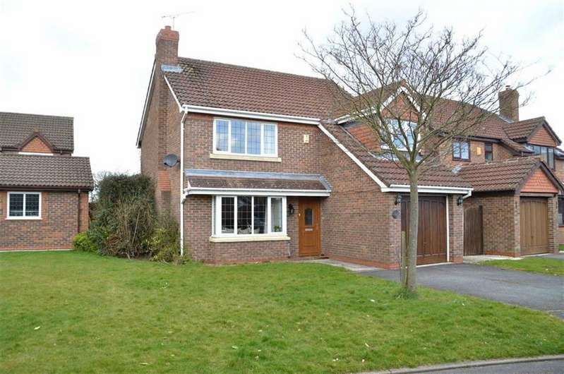 4 Bedrooms Detached House for sale in Polden Close, Ledsham Park, CH66