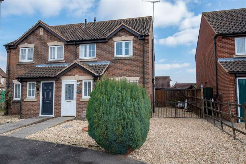 3 Bedrooms Semi Detached House for sale in Church Walk, Sibsey, Boston, Lincolnshire