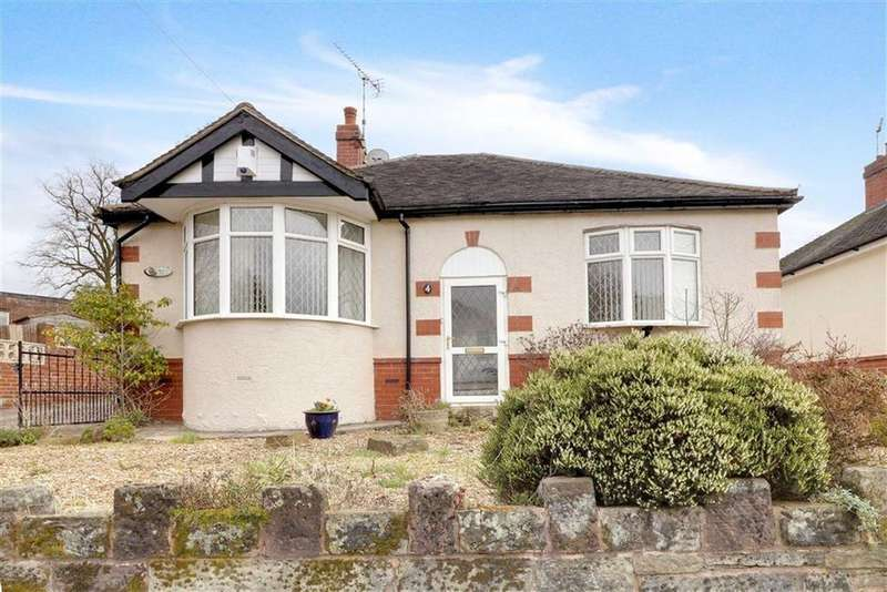 2 Bedrooms Detached Bungalow for sale in Park Avenue, Kidsgrove, Stoke-on-Trent