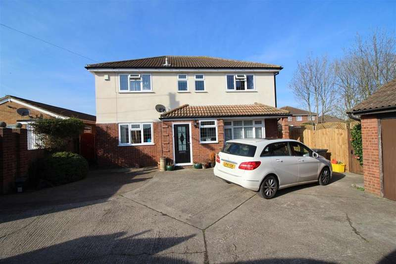 5 Bedrooms Detached House for sale in Roland Lane, Canvey Island